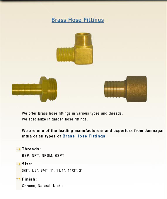 Brass hose fittings brass hose couplings fitting brass garden